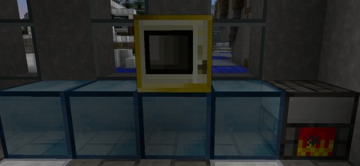 Here's a plastic microwave I prepared earlier. For more Minecraft mod reviews, visit: