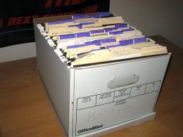 Easy box filing...