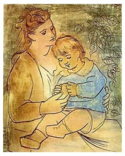 The moment a child is born, the mother is also born. She never existed before. The woman existed, but the mother, never.