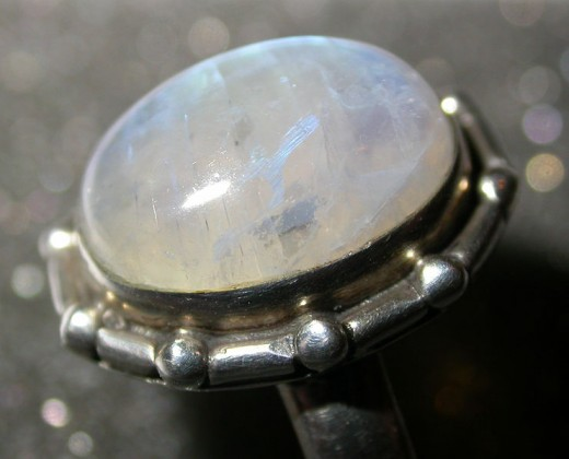 Polished Moonstone