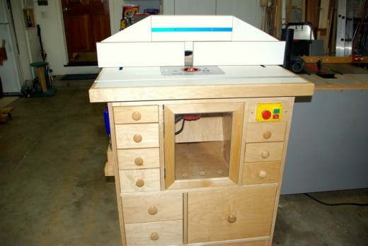 Router workshop table plans wood scraping i will order 4 sets of them and use the extra one by putting a pull out shelf in the bottom of the router table thus making it easier to get to greentooth Image collections