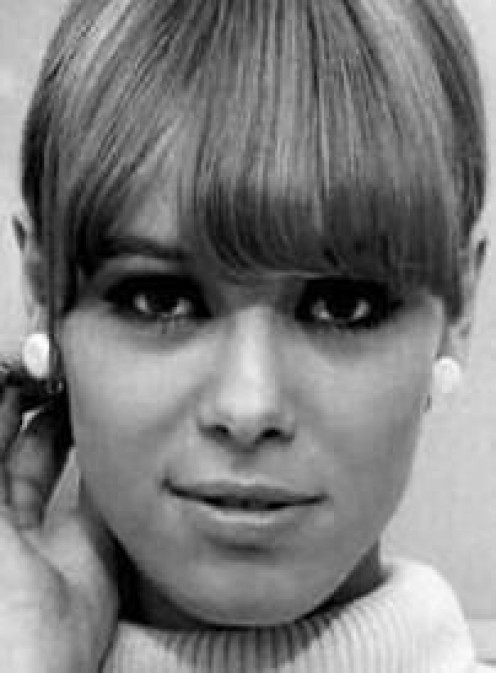 Young Anita Pallenberg