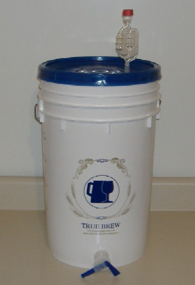 You will need a plastic primary fermenter, I bought mine online but they often come with home brew kits