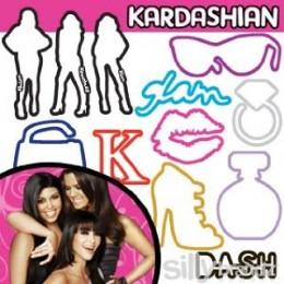 Karashian Glam Silly Bandz