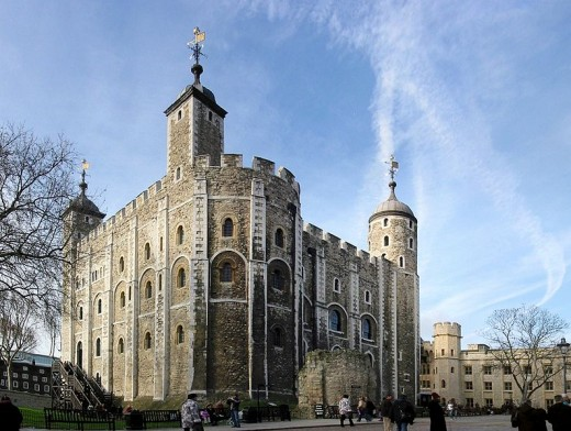 White Tower at Tower of London