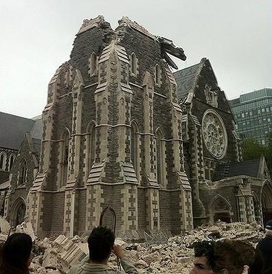 Christchurch Cathedral in Christchurch Square