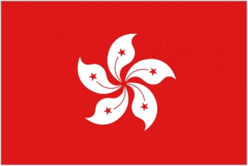 Flag of Hong Kong.