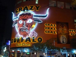 The Crazy Buffalo, The Best Bar And Nightclub In Saigon (Ho Chi Minh City), Vietnam