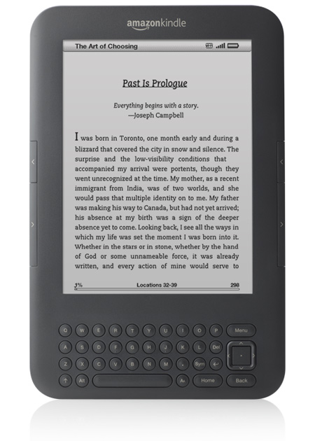 The kindle is a best selling Amazon product, as well as the best rated