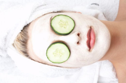 cucumbers are great for tired eyes and reducing dark circles