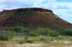 A rare geological landmark on the west coast plains.