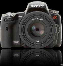 Sony a55 - Professional Quality MidRange MDSLR