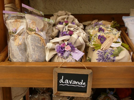 Lavender bags make cute presents