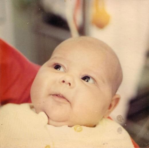 My first born Kim.
