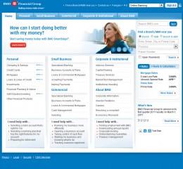 BMO Main WebPage