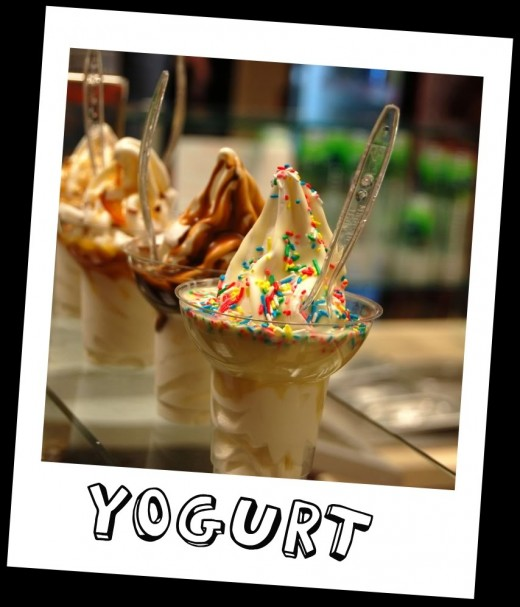 Frozen Yogurt By zoratychez, source Photobucket  - Health Benefits of Yogurt