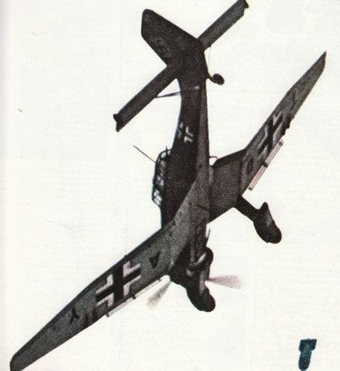 """The Stuka dive bomber, symbol of the Blitzkrieg in Poland in 1939. This terrifying aircraft swept all before it in the first year of the war."" from http://rememberwhen.gazettelive.co.uk/2009/08/the-day-war-broke-out.html"