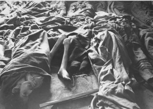 Picture from the Main Commission for the Investigation of Nazi War Crimes,, courtesy of USHMM Photo Archives. Accessed from http://history1900s.about.com/library/holocaust/blprisoner16.htm