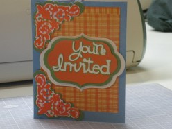Cricut Card Ideas for Making An Invitation