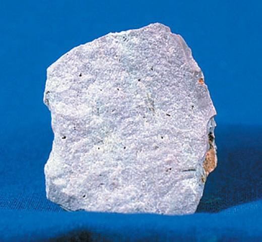 Rhyolite, a felsic rock