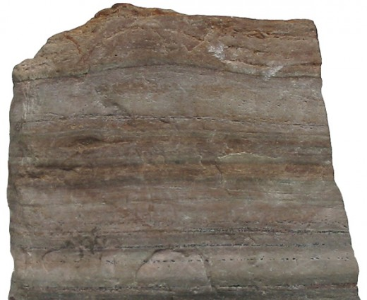Quartzite, a metamorphic rock