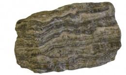 Gneiss, a foliated metamorphic rock