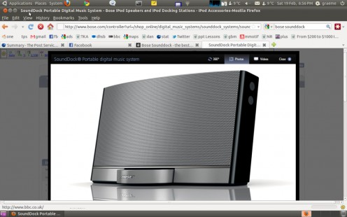 The Fantastic Bose Sounddock