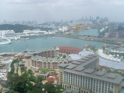 View from the Tiger Sky Tower.