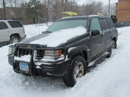 You were a beast my Jeep Cherokee.  You kept me and my family safe till the end