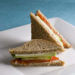 Healthy Brownbread Sandwiches