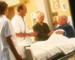 visitation to a hospital may link you up
