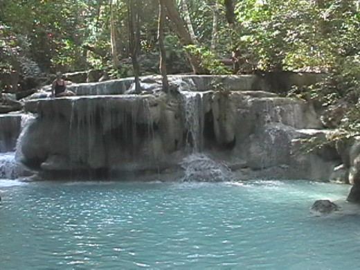 "Waterfall Level 5 ""Lounge"" area"