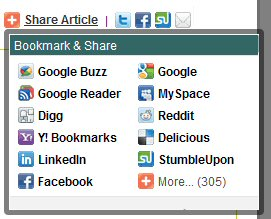 Use social networking sites and social bookmarking sites to your advantage to generate site traffic