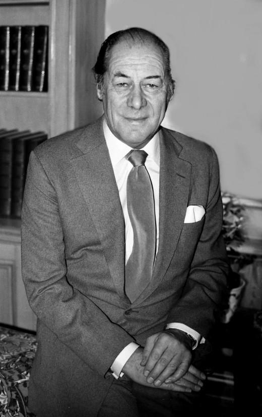 Rex Harrison, born March 5, 1908.