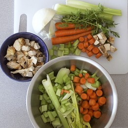 Healthy Soup Ingredients