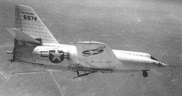 The Bell X-2