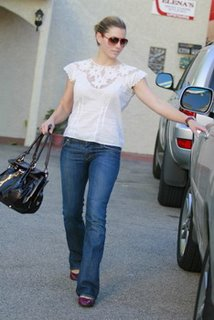 Jessica Biel - Designer Jeans