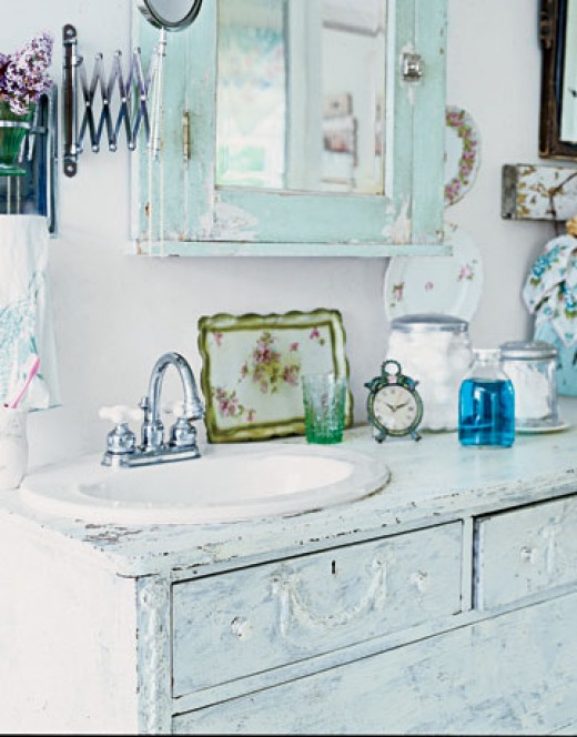 Shabby Chic Bathroom D Cor Ideas