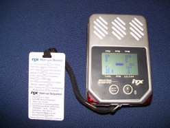 Portable carbon monoxide meter that scans other gases.