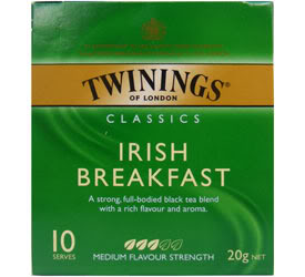 Tea is an essential part of any Irish breakfast