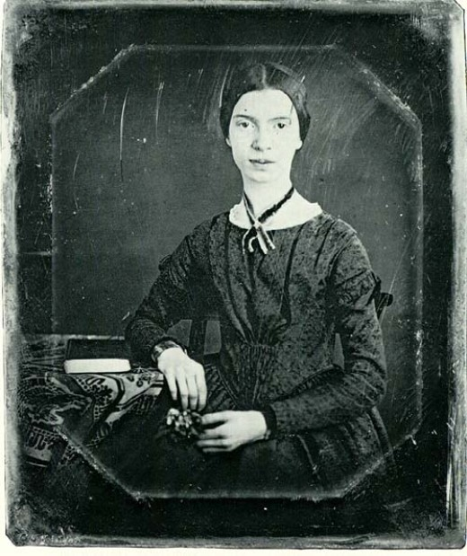 Emily Dickinson. An incredibly talented and interesting woman, Dickinson often dealt with issues concerning the mind and sanity.