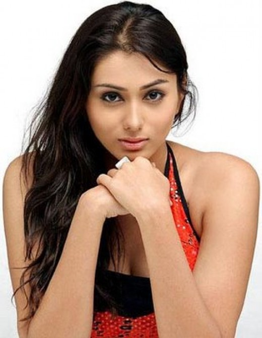 Namitha started her career in television commercials.
