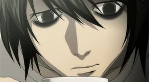 L needs more sugar in his coffee.