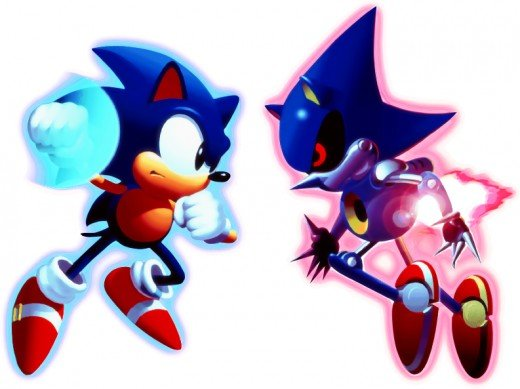 Metal Sonic should have more of a presence in Sonic 4: Episode II than he did in previous games by appearing in the more than just the main strory levels..