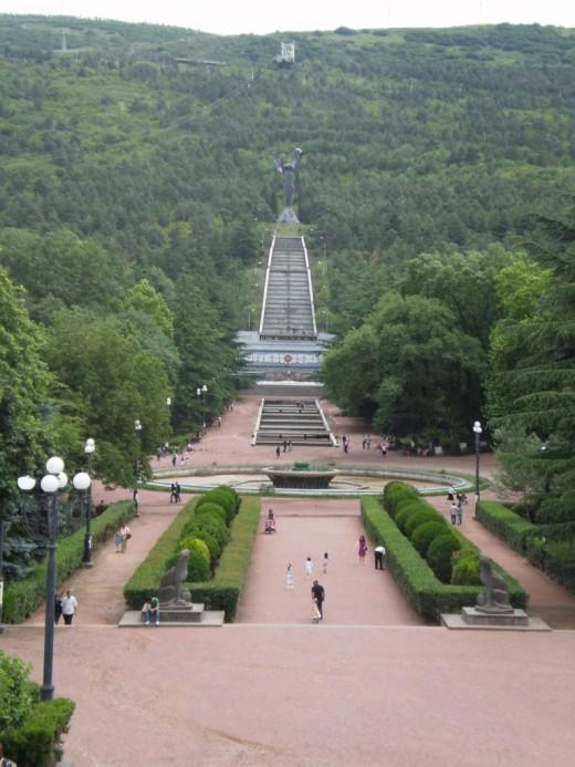Vake Park. Tbilisi, Georgia