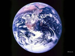 If you look at this photograph of our planet, you will see no borders marked.  All these things of 'separation' are created in our own minds.