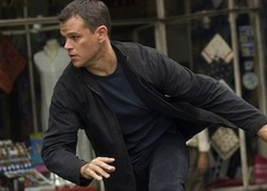 "Matt Damon ""The Bourne Identity"""
