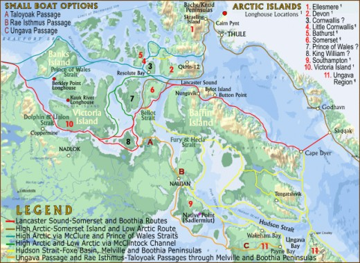 "The final discovery of the north west passage, the ""holy grail"" of explorers for centuries was accomplished in 1851. Before then, the fur trade, interaction with the Inuit, Cree and the birth of the Metis occurred."