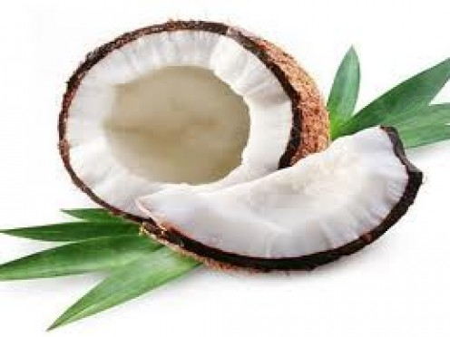 Coconut oil is antibacterial and has rich antioxidants to protect and nourish skin.