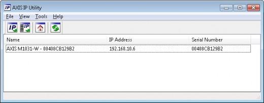 IP configuration utility